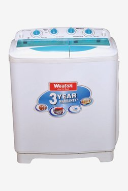 Weston WMI 802 A 8 kg Semi Automatic Washing Machine (White)