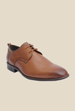 Salt 'n' Pepper Figo Tan Derby Shoes