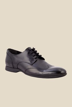 Salt 'n' Pepper Smoke Black Derby Shoes - Mp000000000345302