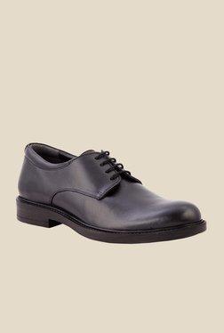 Salt 'n' Pepper Antartic Black Derby Shoes
