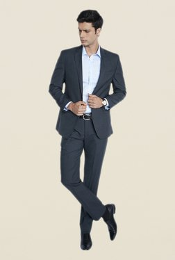 Park Avenue Light Grey Suit Set