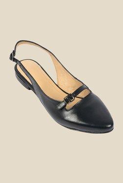 Salt 'n' Pepper Alisha Black Back Strap Sandals