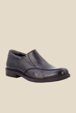 Salt 'n' Pepper Antartic Black Formal Shoes