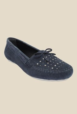 Salt 'n' Pepper Hanna Navy Boat Shoes