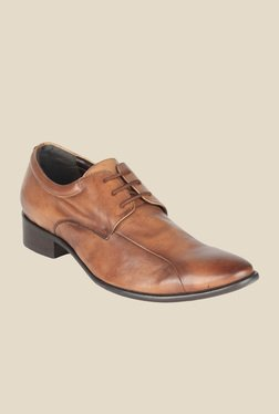 Salt 'n' Pepper Senator Tan Derby Shoes