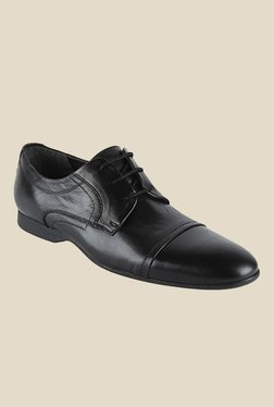 Salt 'n' Pepper Smoke Black Derby Shoes - Mp000000000346068