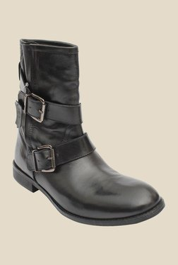 Salt 'n' Pepper Anna Black Casual Boots