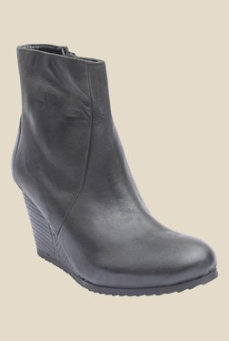 Salt 'n' Pepper Fevi Black Casual Boots