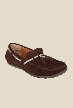 Salt 'n' Pepper Mach2 Brown Boat Shoes