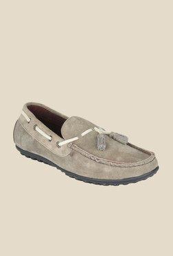 Salt 'n' Pepper Mach2 Grey Boat Shoes