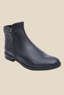Salt 'n' Pepper England Navy Casual Boots