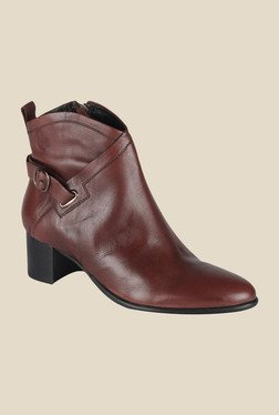 Salt 'n' Pepper Sophie Wine Casual Boots