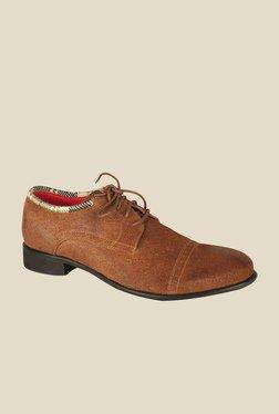 Salt 'n' Pepper Campari Brown Derby Shoes