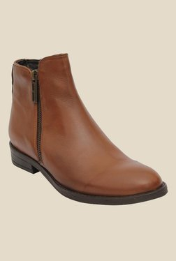 Salt 'n' Pepper England Almond Formal Boots