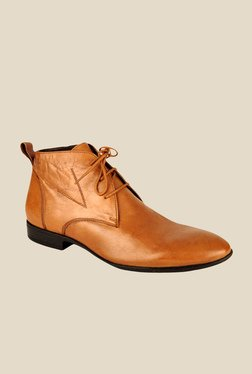 Salt 'n' Pepper Koop Tan Chukka Boots