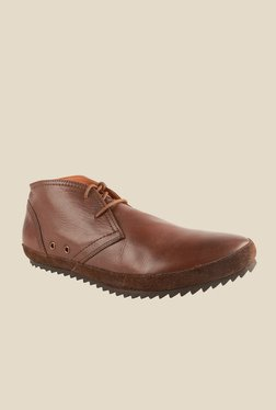 Salt 'n' Pepper Dignity Brown Chukka Shoes
