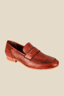 Salt 'n' Pepper Blade Brown Formal Shoes