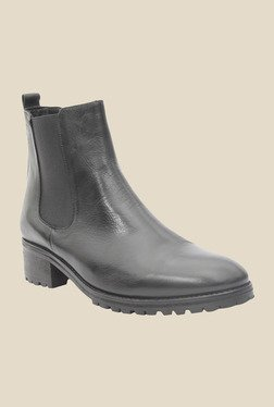 Salt 'n' Pepper Alix Black Chelsea Boots