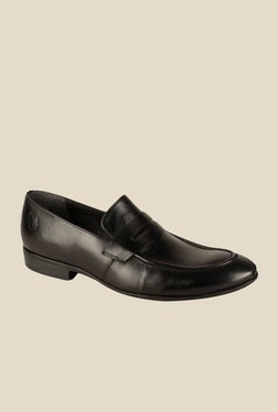 Salt 'n' Pepper Koop Black Formal Shoes