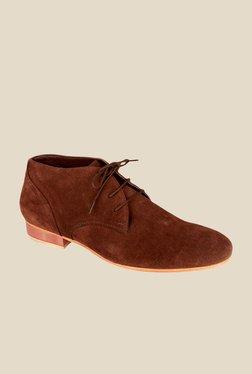 Salt 'n' Pepper Blade Brown Derby Shoes