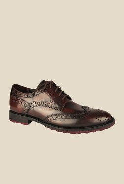 Salt 'n' Pepper Rafael Brown Brogue Shoes