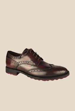 Salt 'n' Pepper Rafael Brown Brogue Shoes