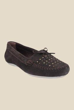 Salt 'n' Pepper Hanna Brown Boat Shoes