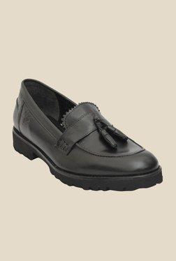 Salt 'n' Pepper York Black Casual Shoes