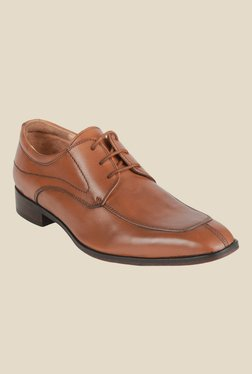 Salt 'n' Pepper Arman Almond Derby Shoes