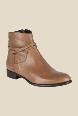 Salt 'n' Pepper England Taupe Casual Boots