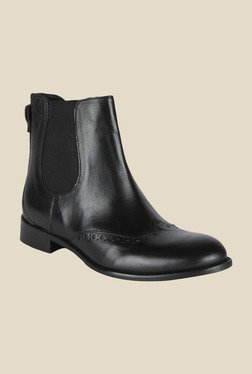 Salt 'n' Pepper Anna Black Chelsea Boots