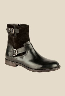Salt 'n' Pepper Ray Black Casual Boots
