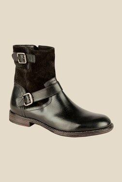 Salt 'n' Pepper Ray Black Casual Boots