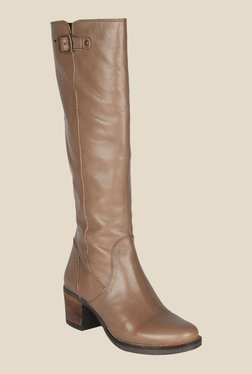 Salt 'n' Pepper Juliet Taupe Casual Boots