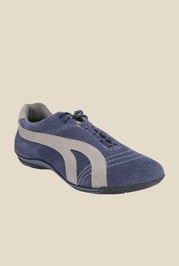 Salt 'n' Pepper Stain Blue Casual Shoes