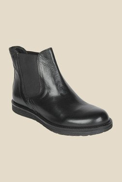 Salt 'n' Pepper Cica Black Chelsea Boots