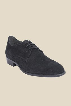 Salt 'n' Pepper Figo Black Casual Shoes