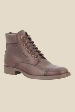 Salt 'n' Pepper Ray Brown Casual Boots