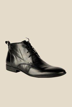 Salt 'n' Pepper Koop Black Chukka Boots