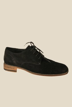 Salt 'n' Pepper Ray Black Derby Shoes
