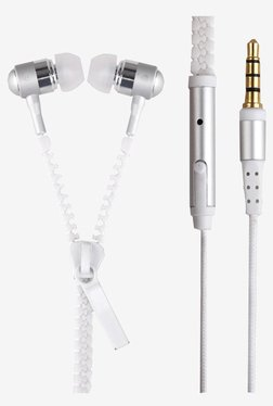 Generic SMPLFY-207 PLYR2  In The Ear Earphones (White)