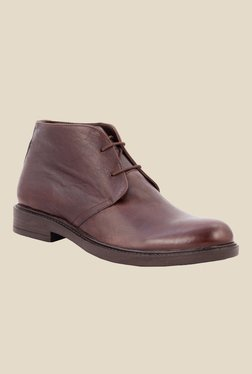 Salt 'n' Pepper Antartic Brown Chukka Boots