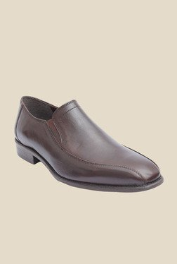 Salt 'n' Pepper Figo Brown Formal Shoes