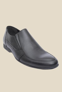Salt 'n' Pepper Smoke Black Formal Shoes