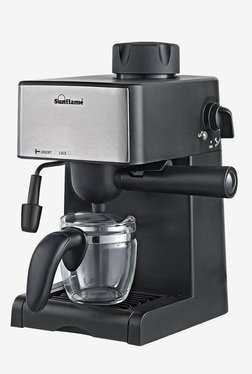 Sunflame SF-712 4 Cups Coffee Maker (Black)
