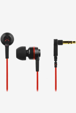SoundMagic ES18 Noise IsolationIng In the Ear (Black/Red)