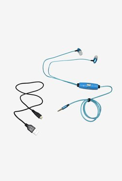 Pashion LED Flashing In the Ear Headphone (Blue)