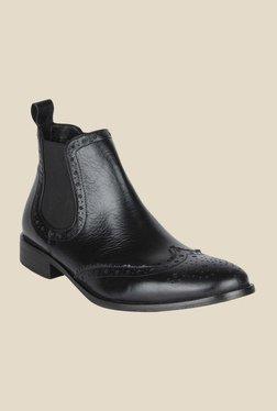 Salt 'n' Pepper Rafael Black Chelsea Boots