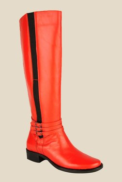 Salt 'n' Pepper Amonia Red Casual Boots