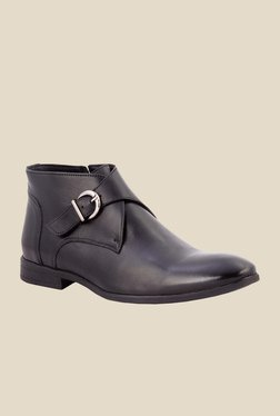 Salt 'n' Pepper Boss Black Monk Boots